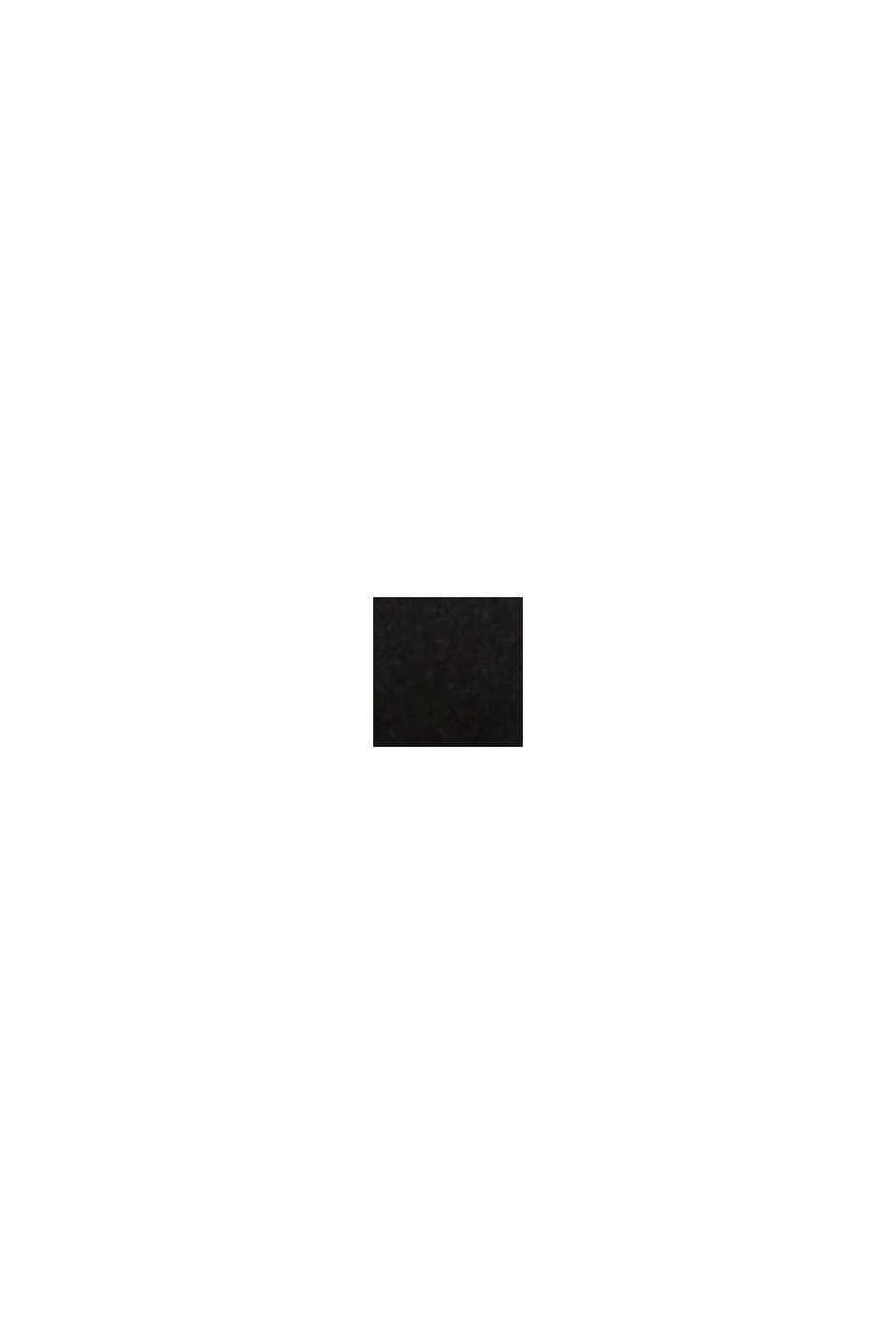 Gerecycled: gewatteerde beugel-bh voor grote cupmaten, BLACK, swatch