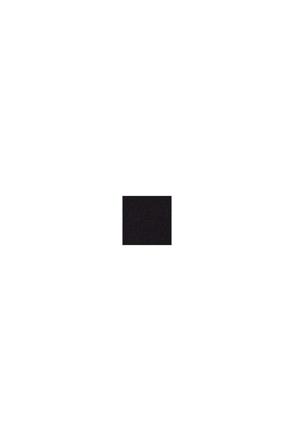 In materiale riciclato: culotte corte in microfibra, BLACK, swatch