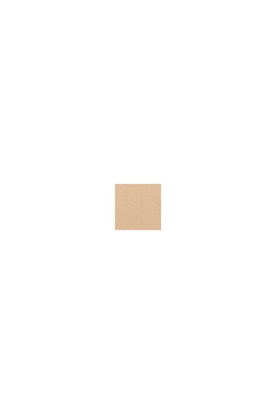 In materiale riciclato: culotte corte in microfibra, DUSTY NUDE, swatch