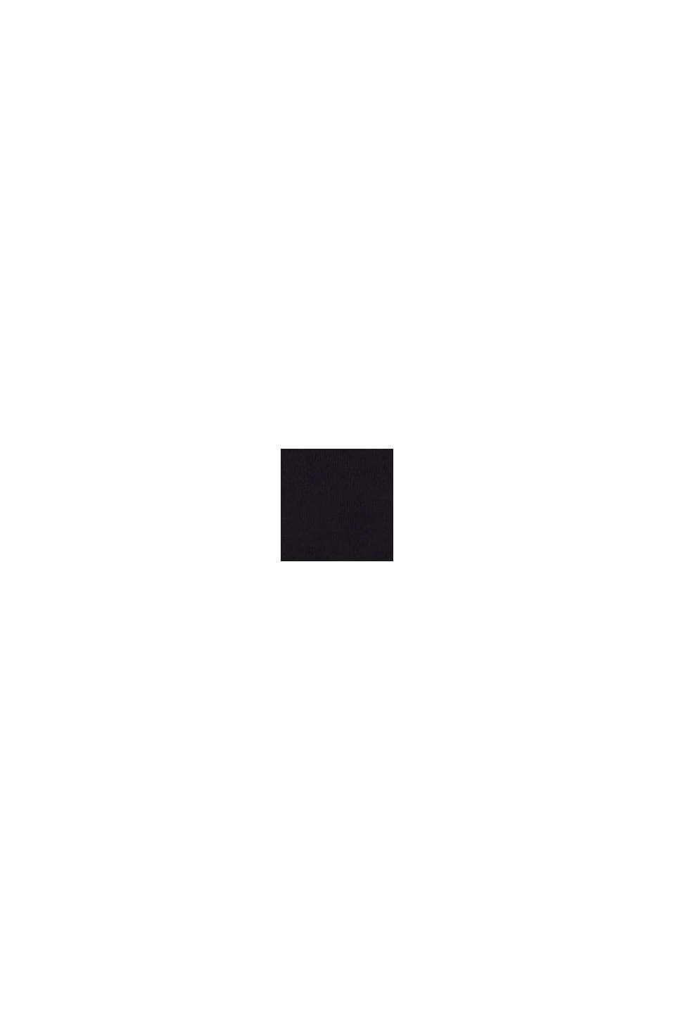In materiale riciclato: Culotte a vita bassa con pizzo, BLACK, swatch