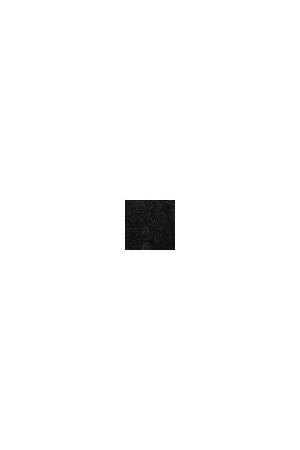 Gewatteerde beugel-bh van grafische kant, BLACK, swatch