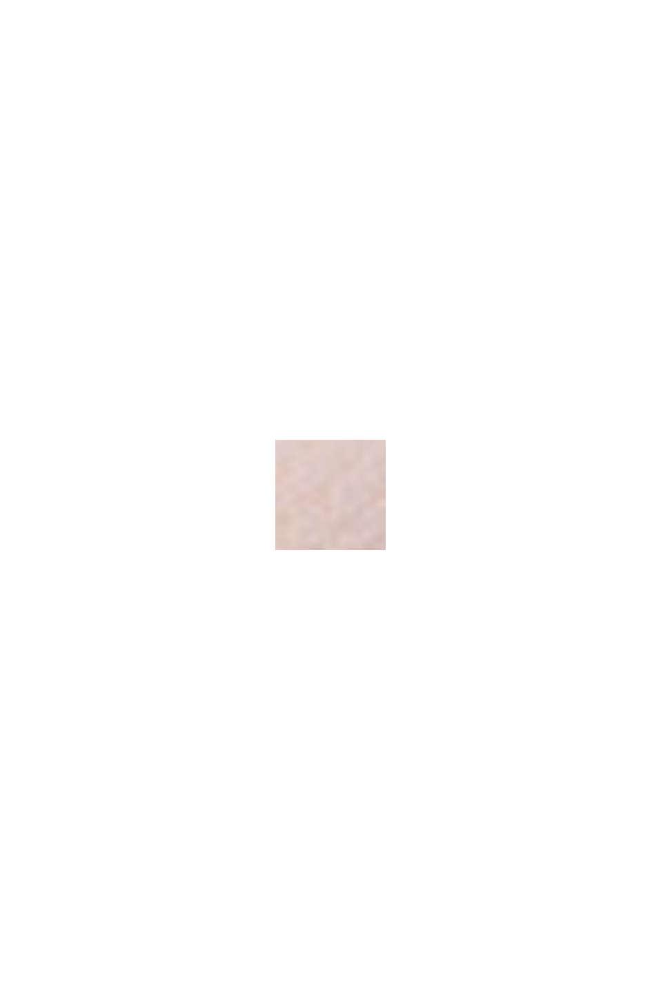 Gewatteerde beugel-bh van grafische kant, OLD PINK, swatch