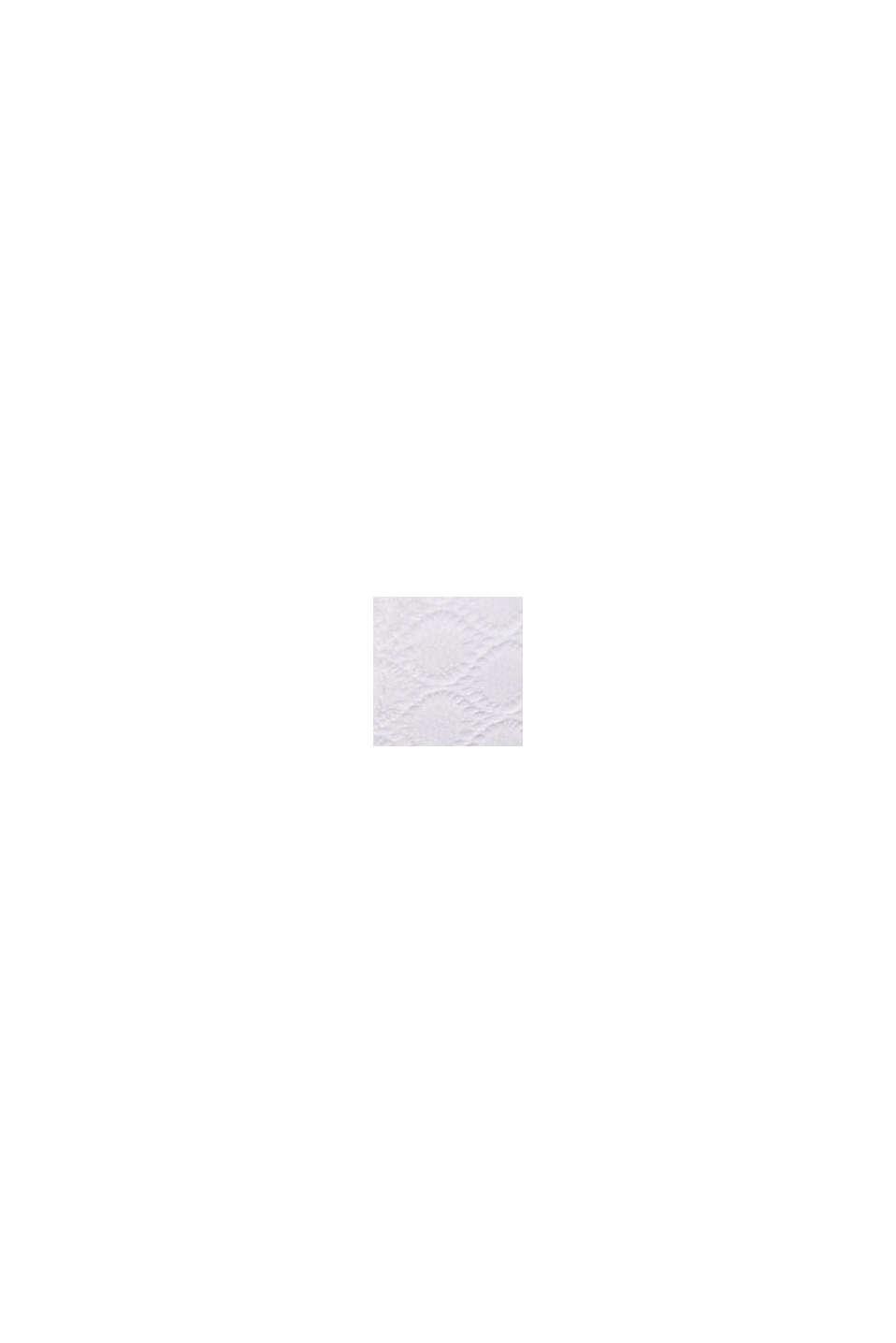 Wattierter Bügel-BH aus grafischer Spitze, WHITE, swatch
