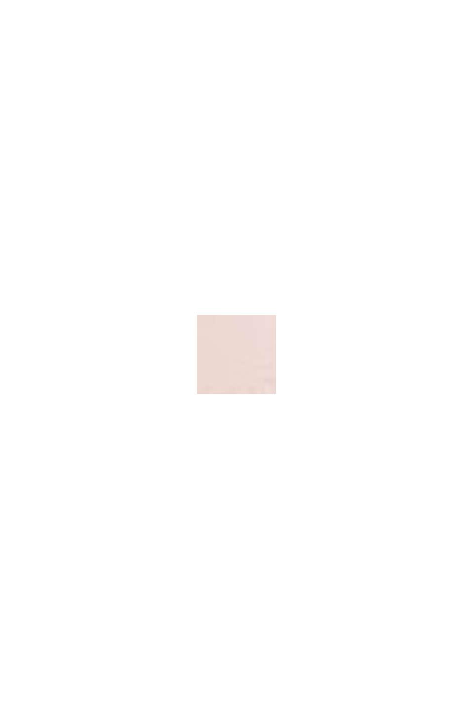 Gewatteerde beugel-bh met kanten beleg, OLD PINK, swatch