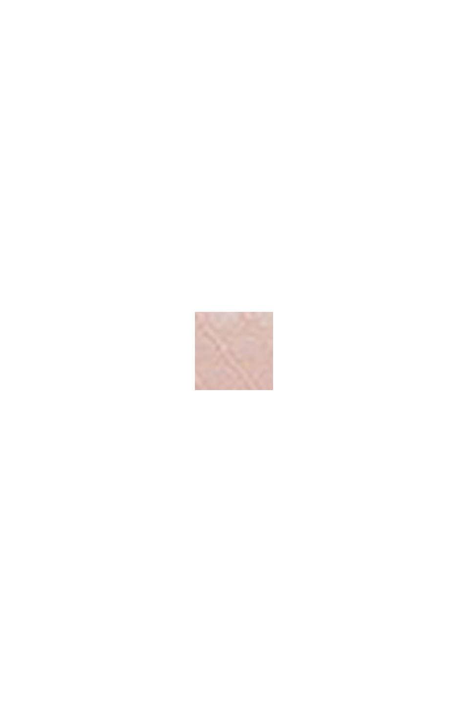 Reciclado: sujetador de aros en encaje geométrico, OLD PINK, swatch