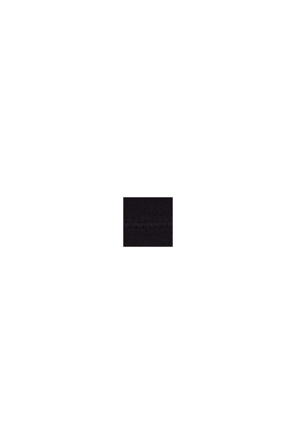Gerecycled: gewatteerde zachte bh, BLACK, swatch