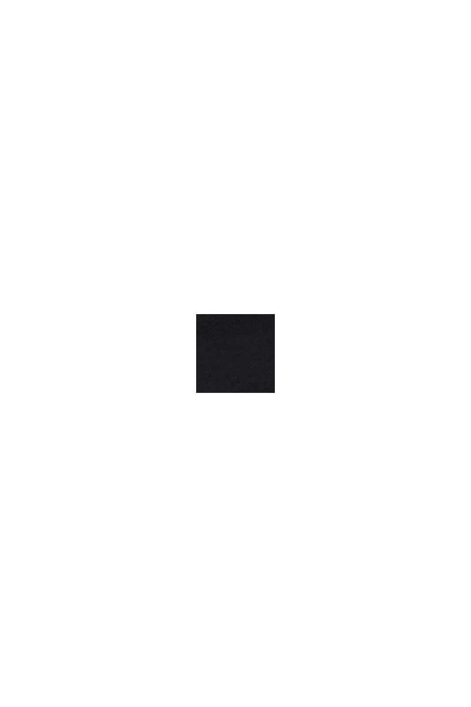 Gerecycled: heerlijk zachte hipster-slip, BLACK, swatch