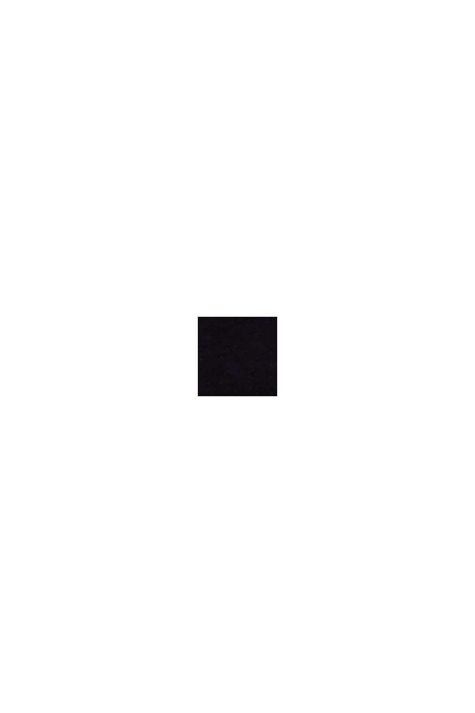 Gerecycled: heerlijk zachte hipster-short, BLACK, swatch