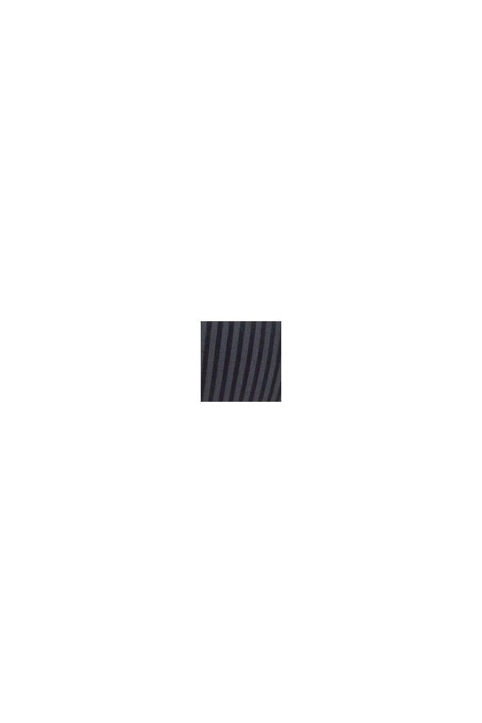 Recycelt: wattierter Bügel-BH aus Microfaser, DARK GREY, swatch