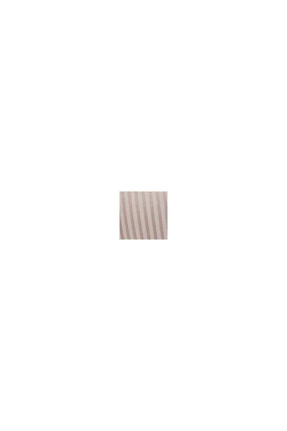 Recycelt: wattierter Bügel-BH aus Microfaser, LIGHT TAUPE, swatch