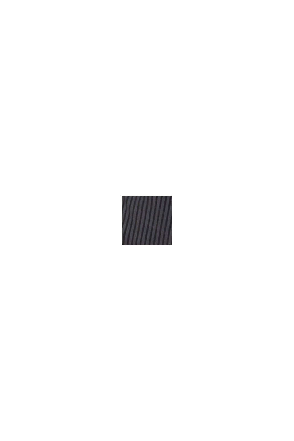 Reciclado: sujetador de aros en microfibra, DARK GREY, swatch