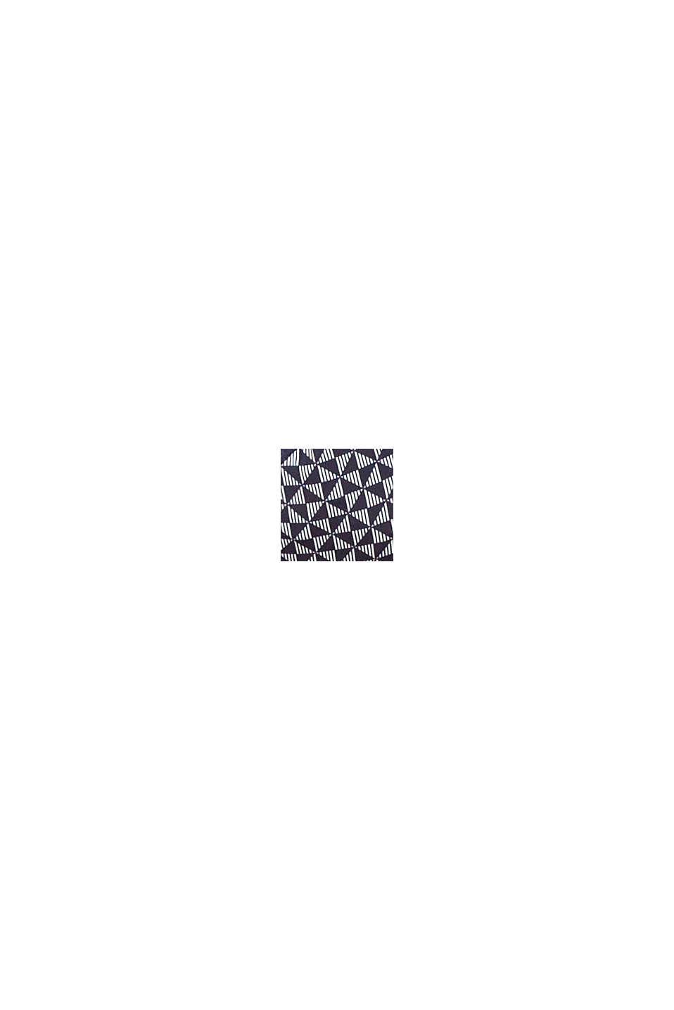 Reciclado: sujetador de aros sin relleno con estampado, NAVY, swatch