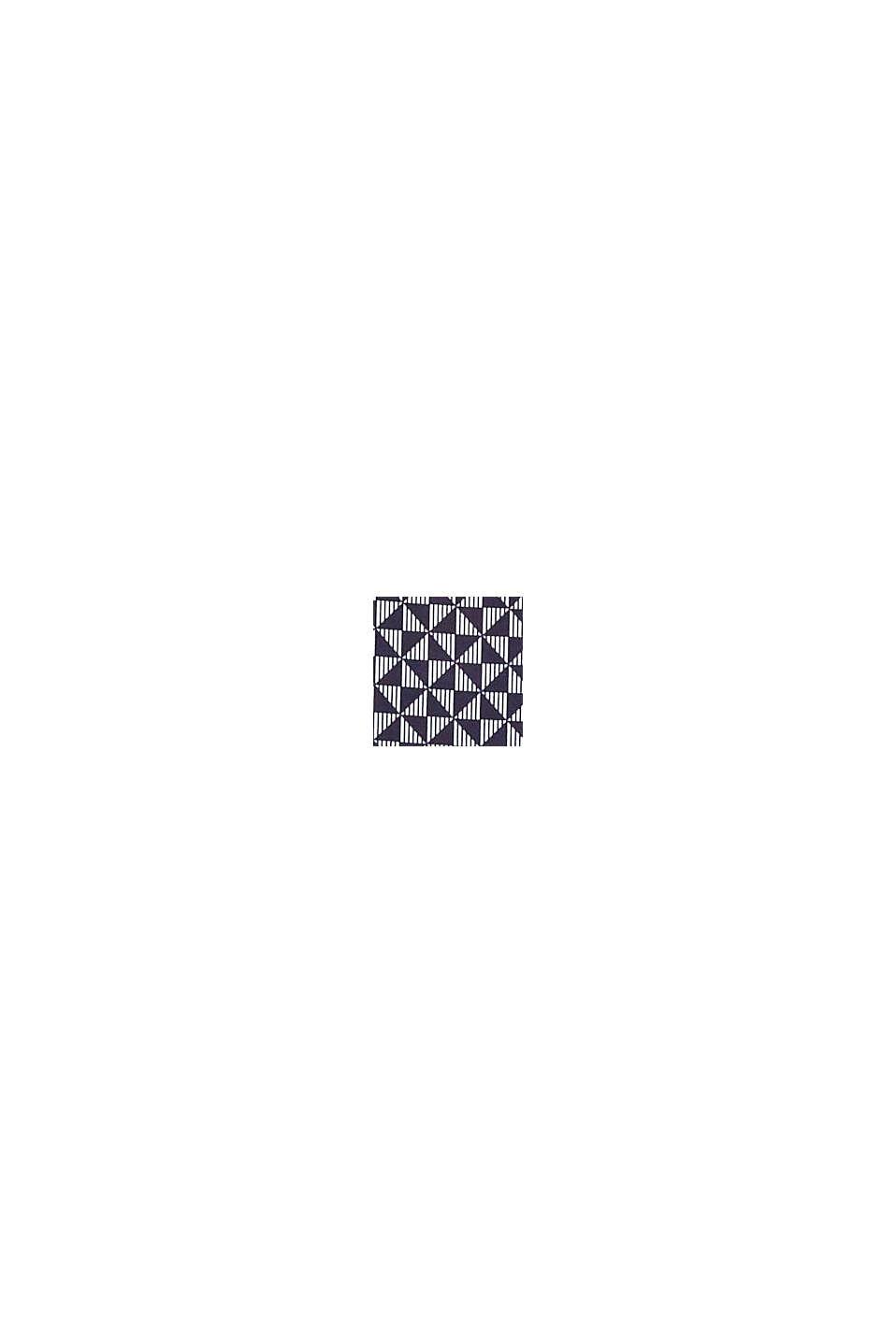 In materiale riciclato: culotte corte con stampa, NAVY, swatch