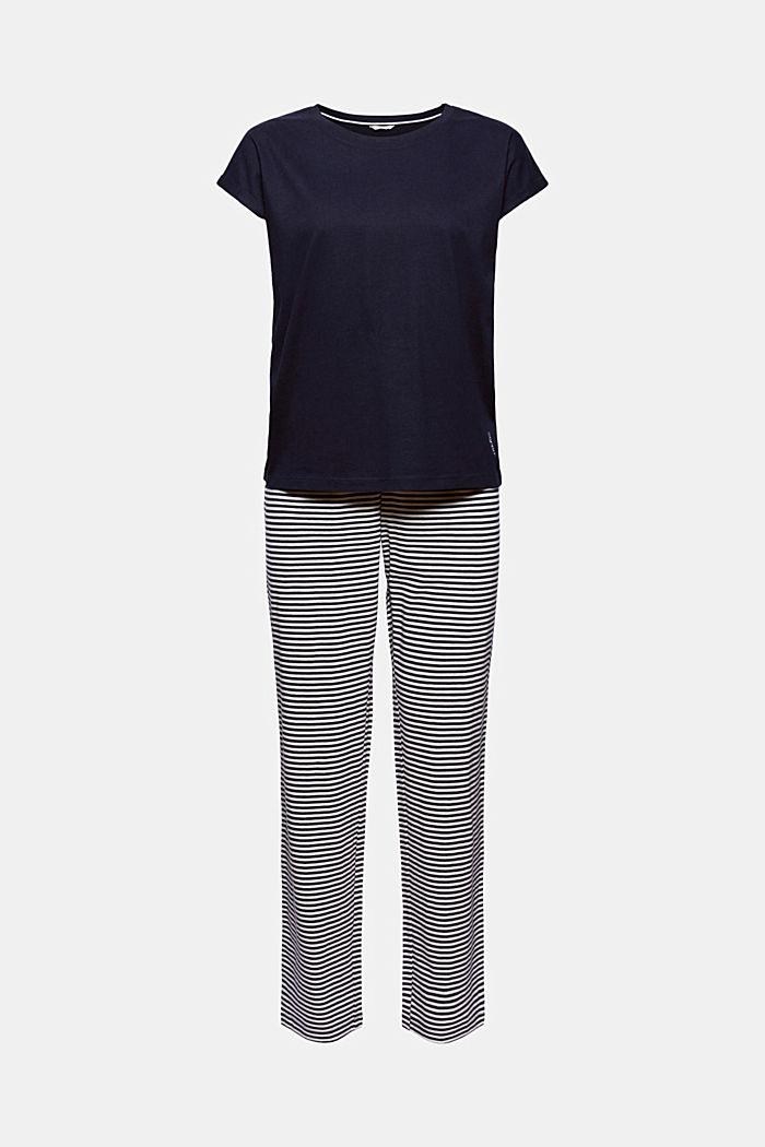 Jersey-Pyjama aus 100% Bio-Baumwolle