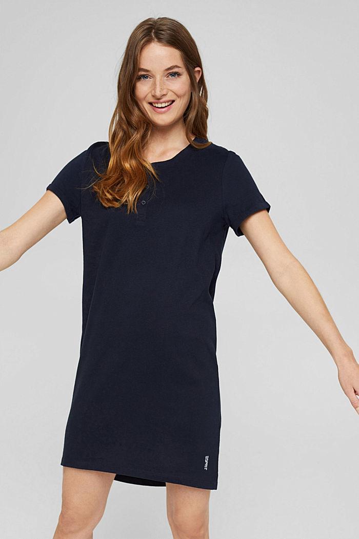 Jersey nachthemd van 100% biologisch katoen