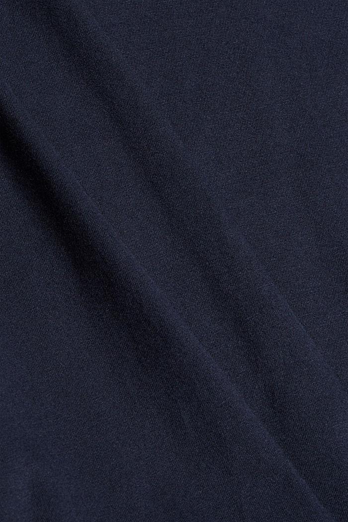Jersey nightshirt made of 100% organic cotton, NAVY, detail image number 4