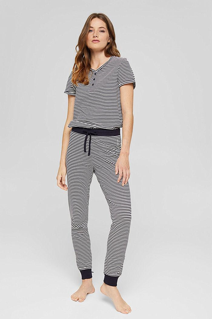 Pyjama-Hose aus Jersey, 100% Bio-Baumwolle