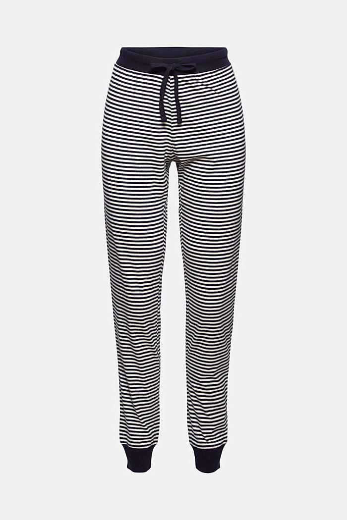 Pantaloni da pigiama in jersey, 100% cotone biologico