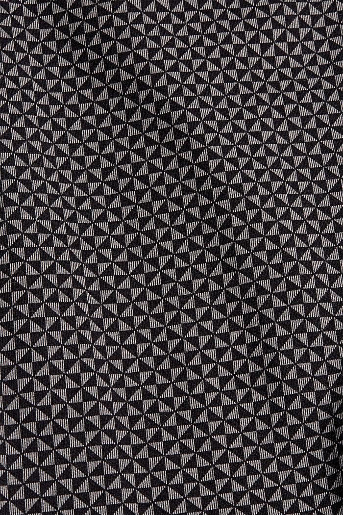 Jersey pyjamabroek van 100% biologisch katoen, BLACK, detail image number 4