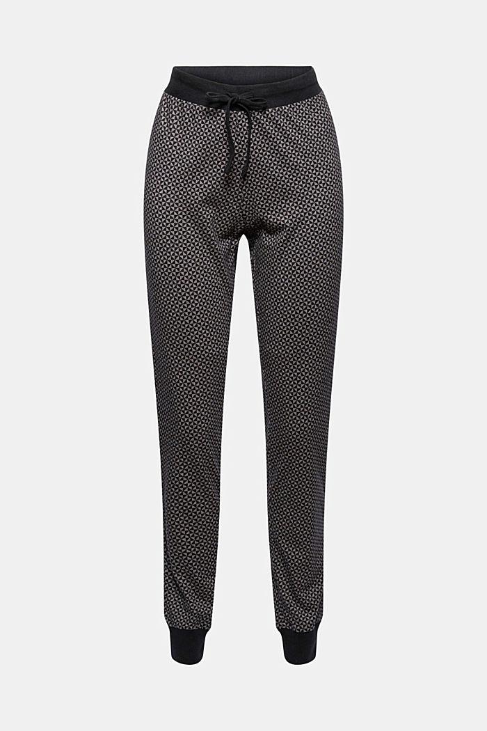 Pantaloni da pigiama in jersey di 100% cotone biologico