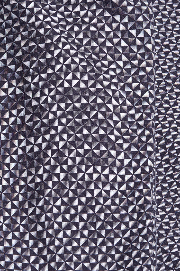 Jersey pyjamabroek van 100% biologisch katoen, NAVY, detail image number 4