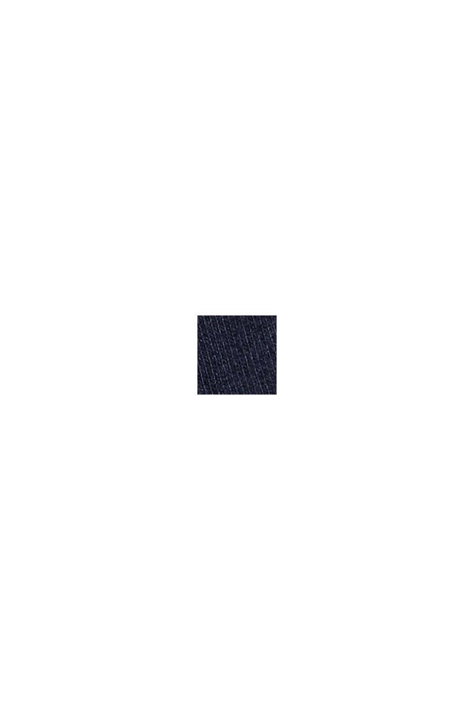 Maglia da pigiama in 100% cotone biologico, NAVY, swatch