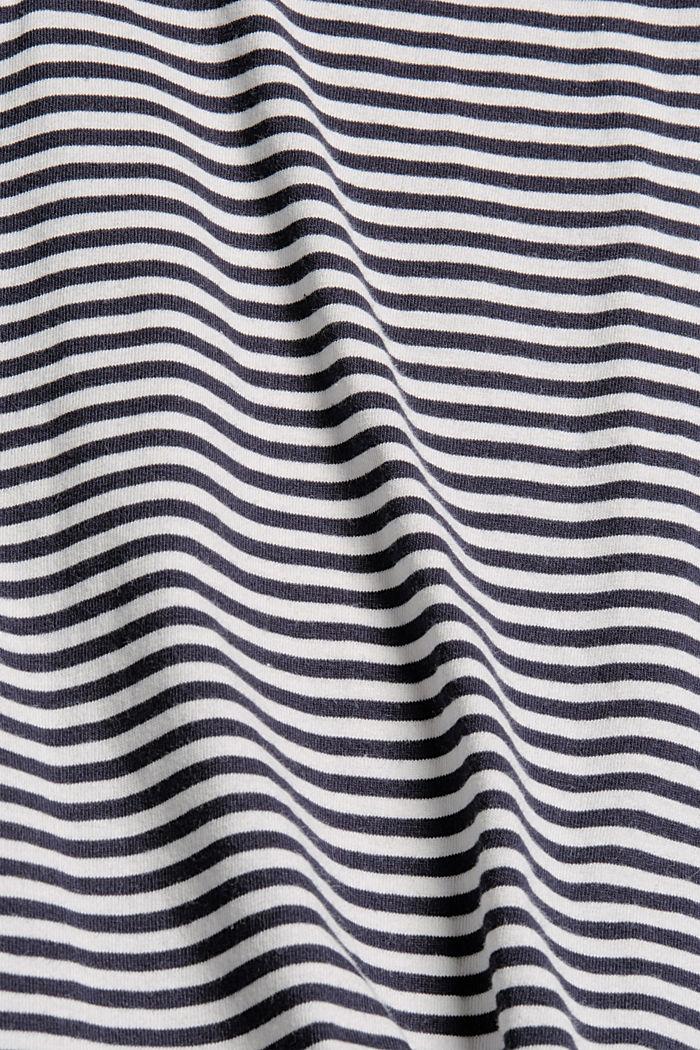 Pyjama-Oberteil aus 100% Bio-Baumwolle, NAVY, detail image number 4