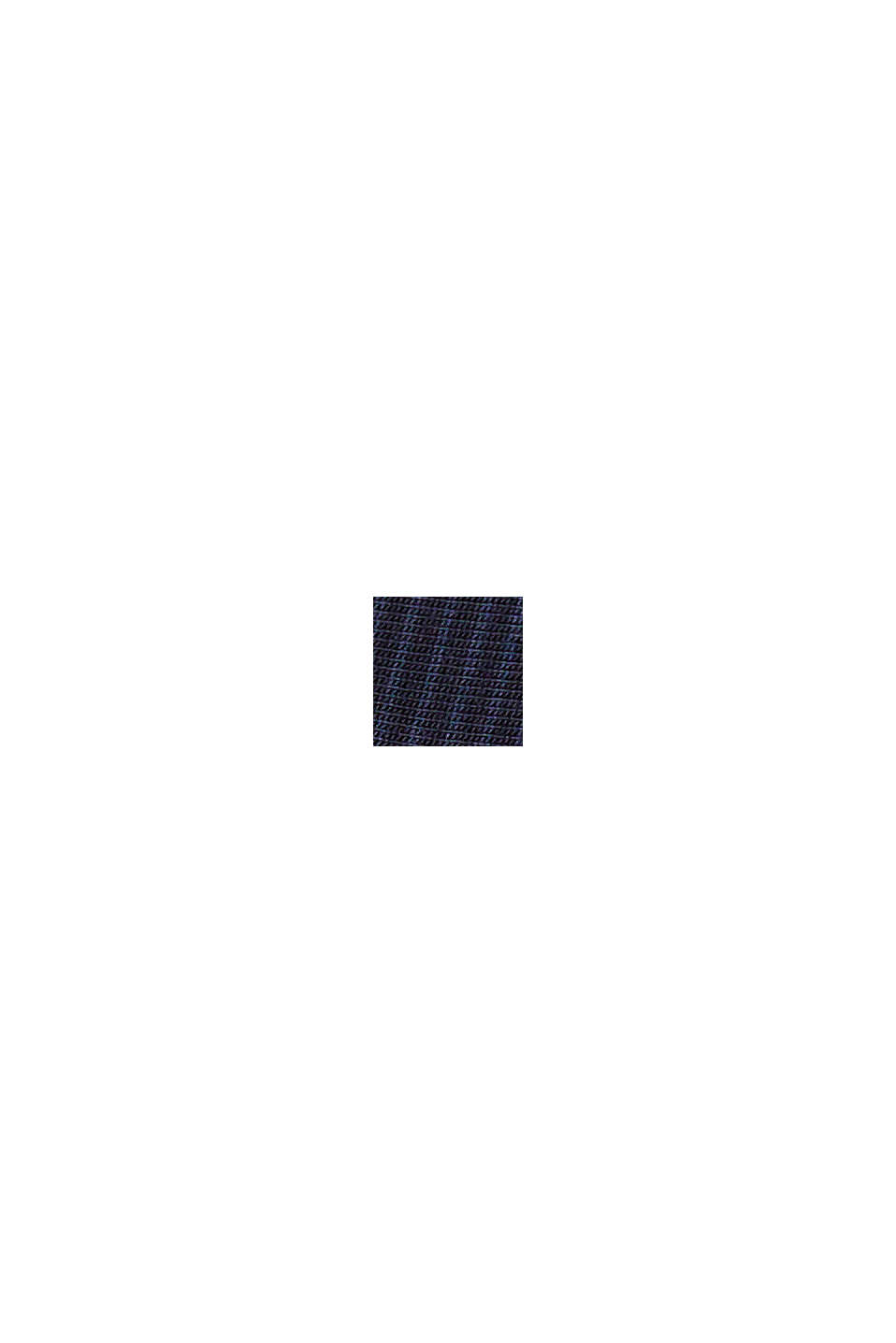 Gestreifter Jersey-Pyjama, LENZING™ ECOVERO™, NAVY, swatch