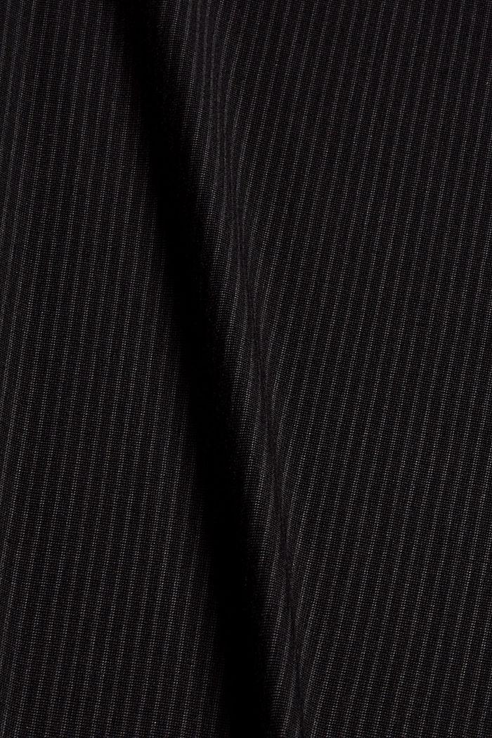 Pyjama bottoms with lace, LENZING™ ECOVERO™, BLACK, detail image number 4