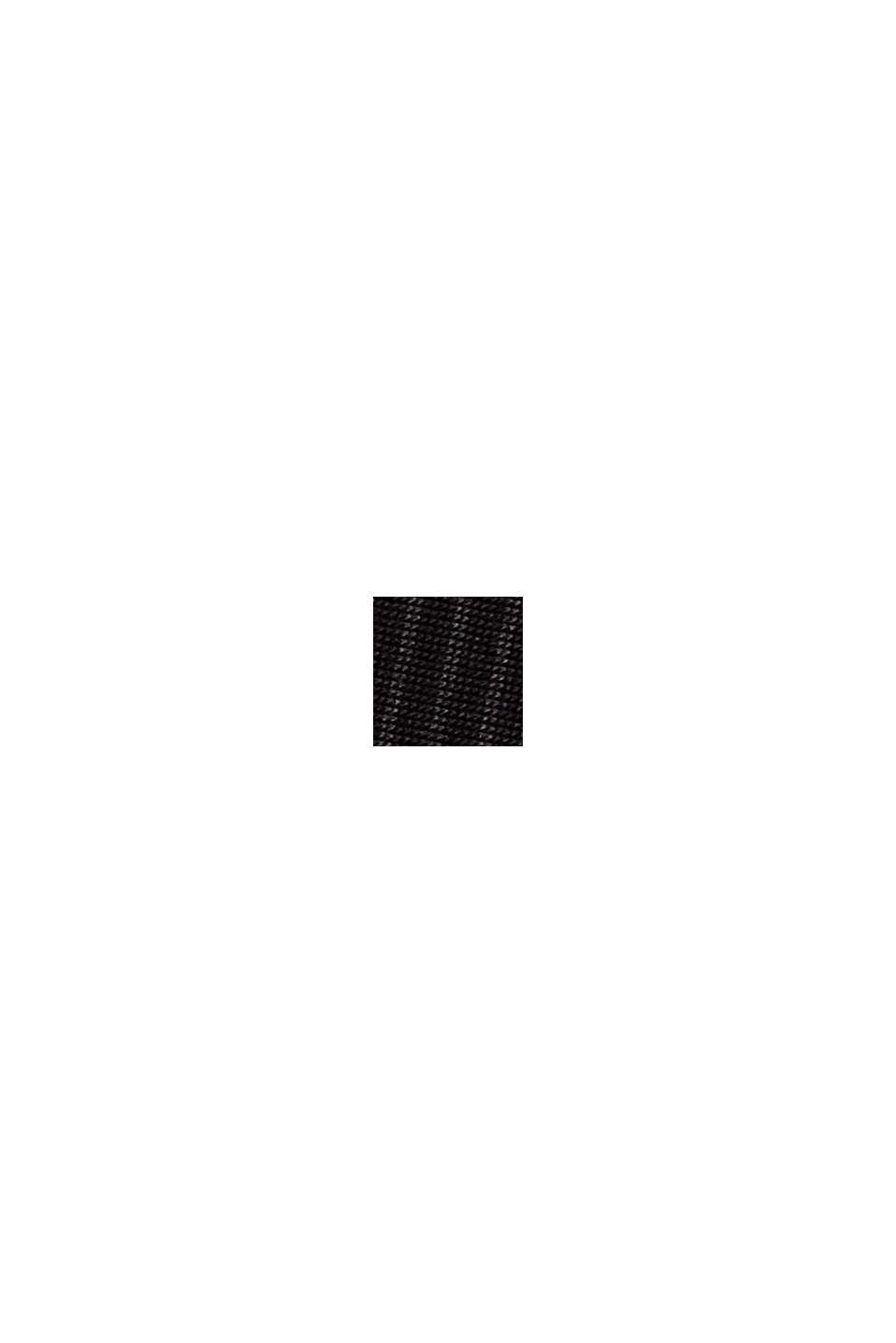 Pyjamahose mit Spitze, LENZING™ ECOVERO™, BLACK, swatch