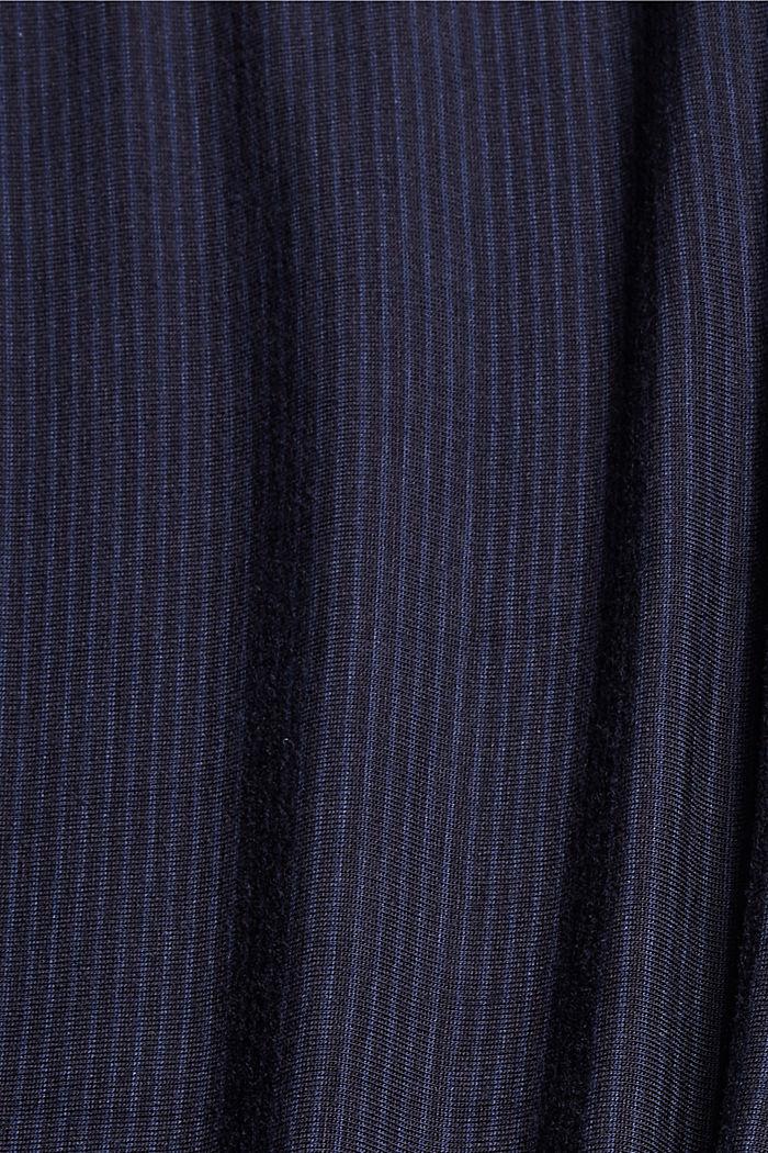 Pantaloni da pigiama con pizzo, LENZING™ ECOVERO™, NAVY, detail image number 4