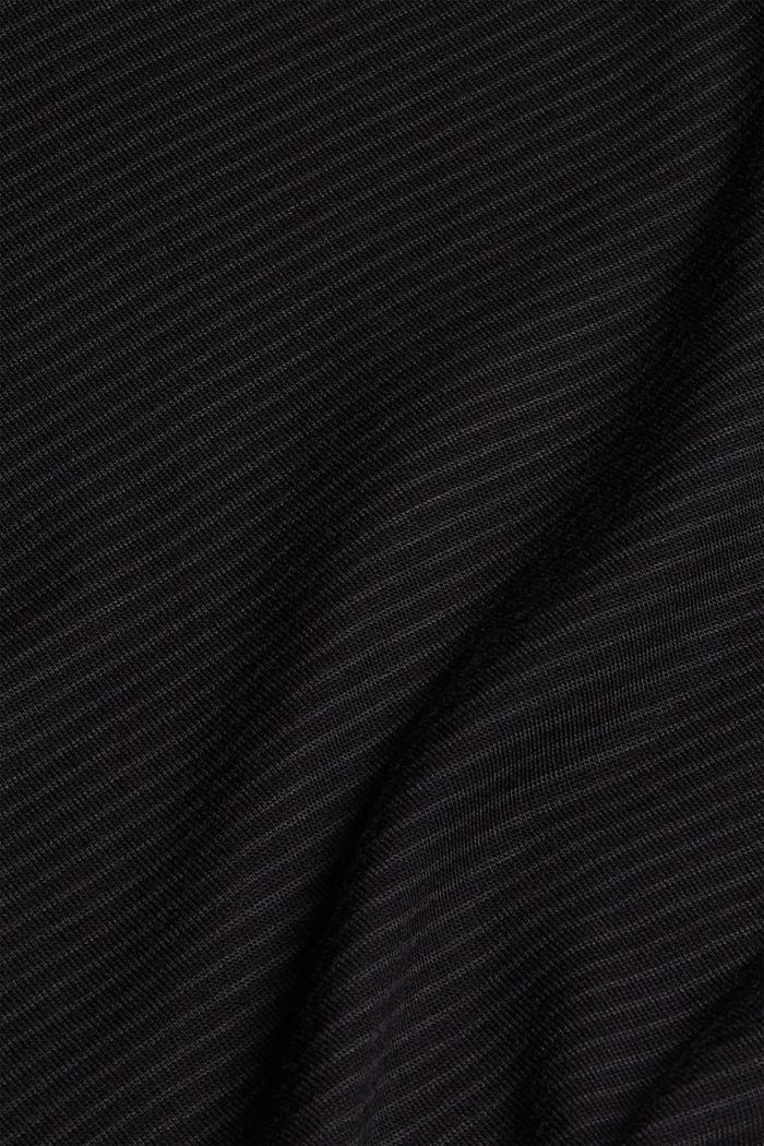 Pyjama shorts with lace, LENZING™ ECOVERO™, BLACK, detail image number 4