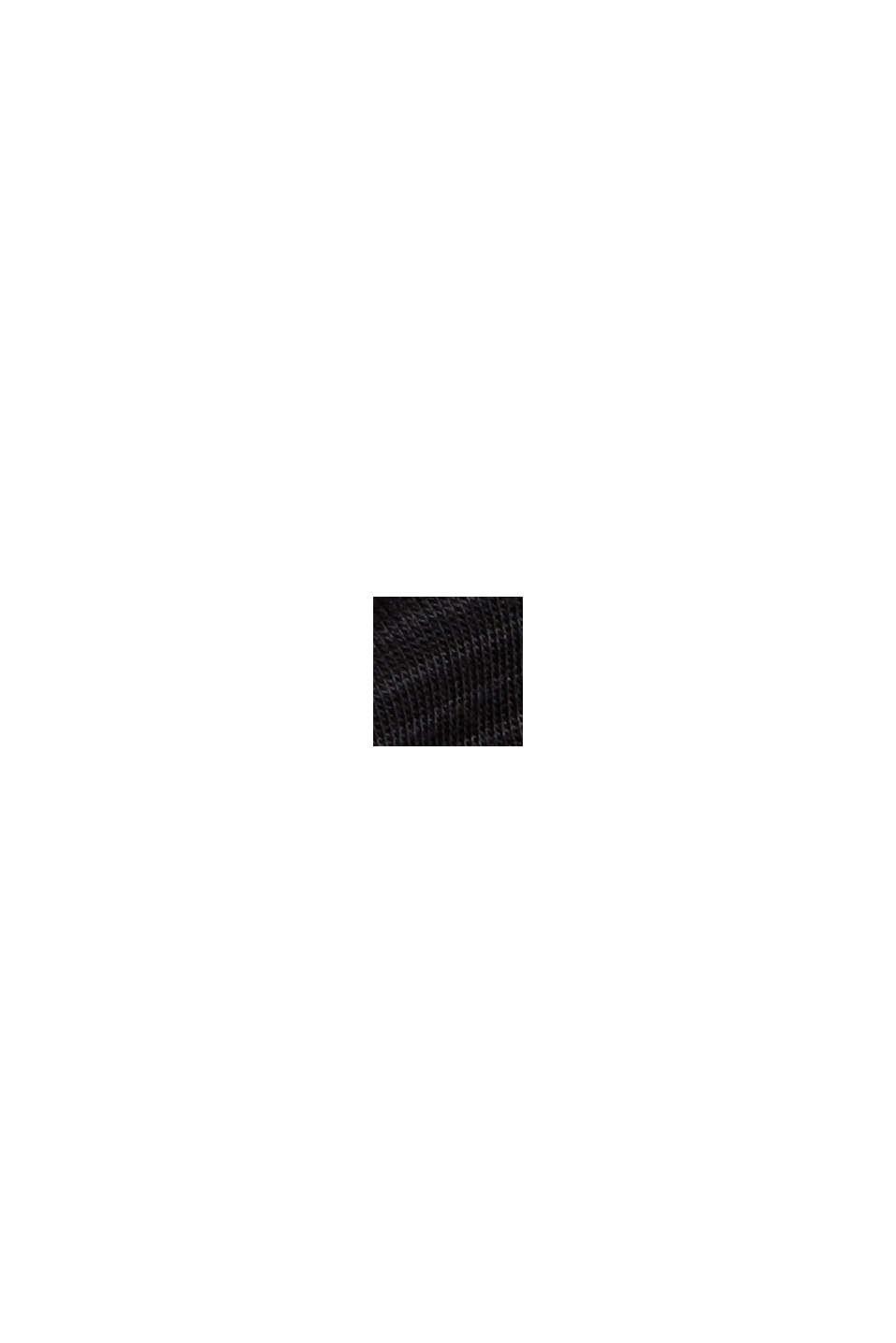 Pyjama-Shorts mit Spitze, LENZING™ ECOVERO™, BLACK, swatch