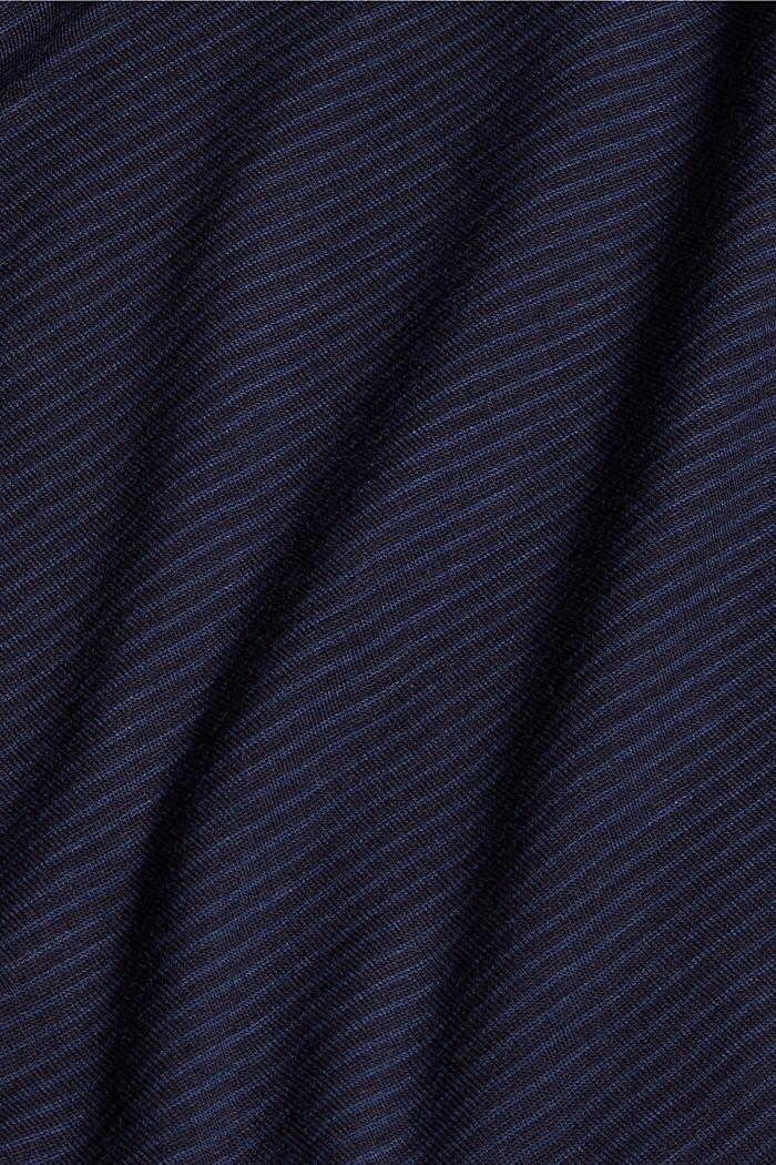 Pitsisomisteiset pyjamashortsit, LENZING™ ECOVERO™, NAVY, detail image number 4
