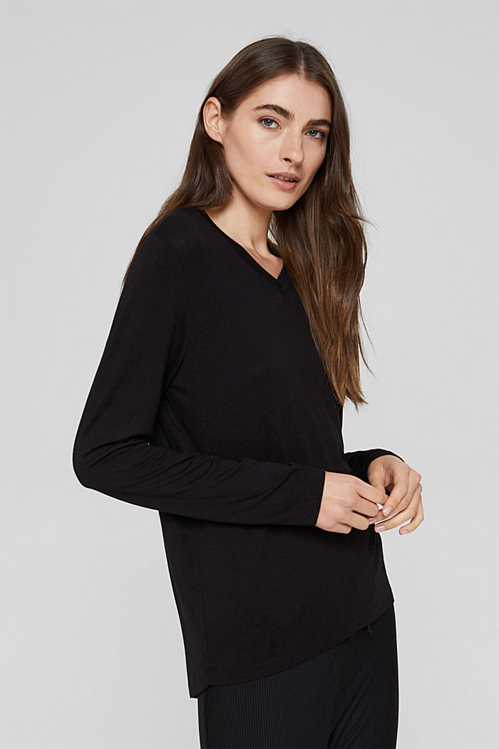 Maglia del pigiama in LENZING™ ECOVERO™