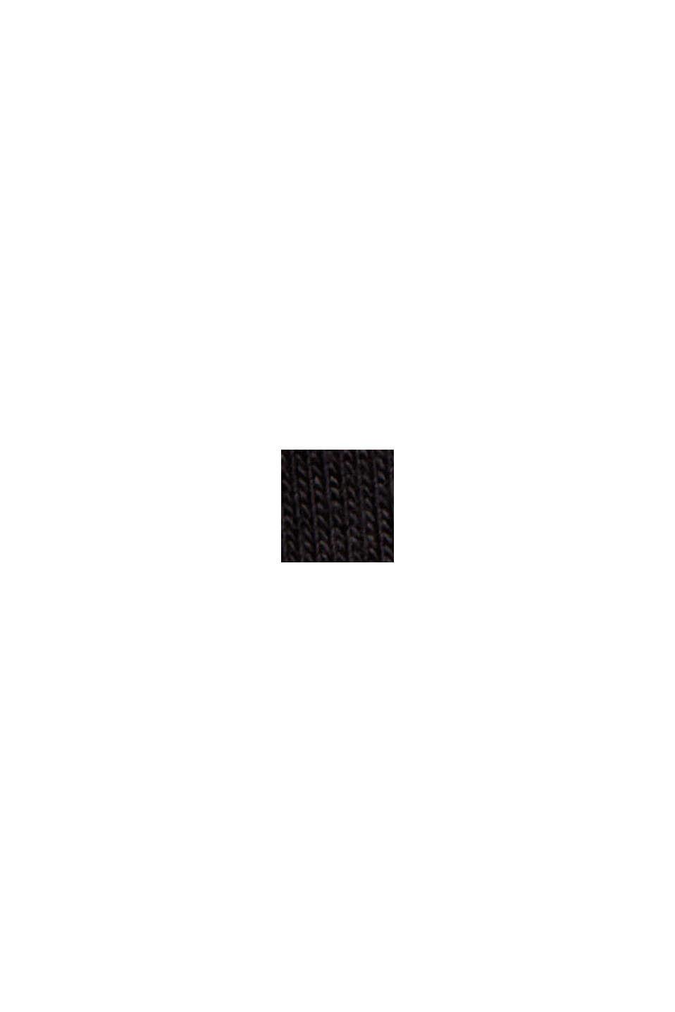 Maglia del pigiama in LENZING™ ECOVERO™, BLACK, swatch