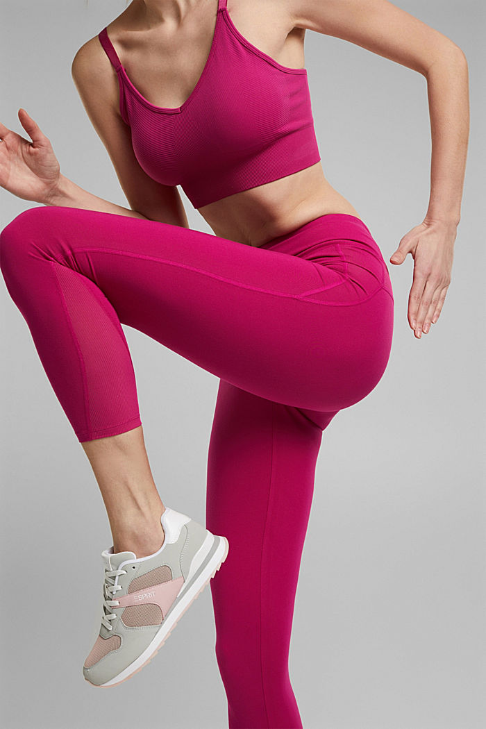 Recycelt: Active-Leggings mit E-Dry