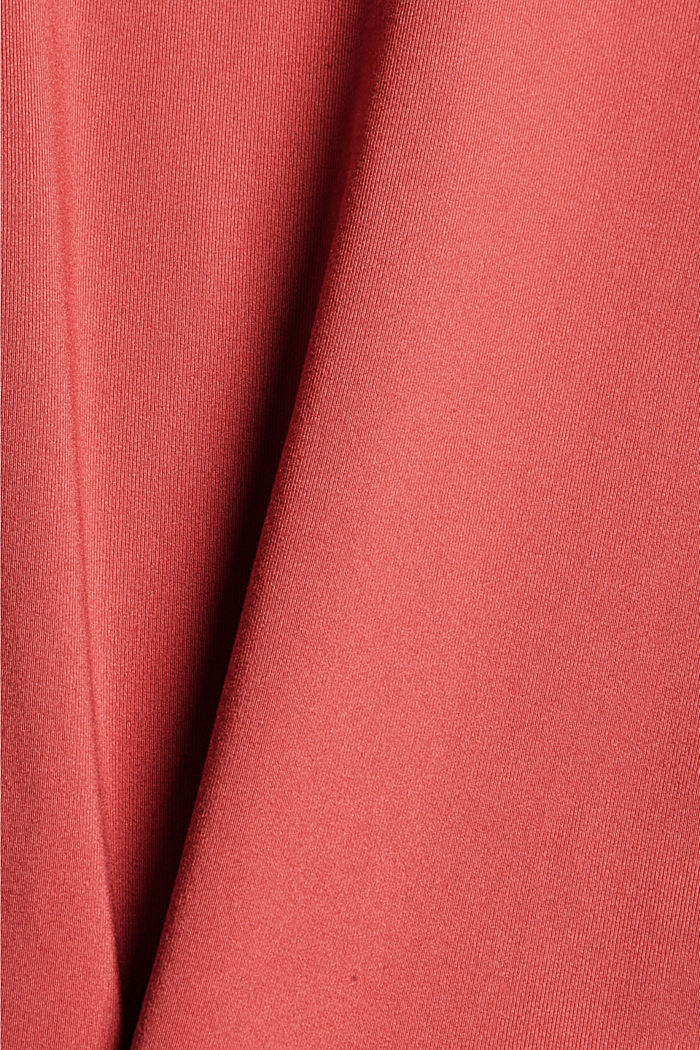 Recycelt: Active-Leggings mit E-Dry, BLUSH, detail image number 4