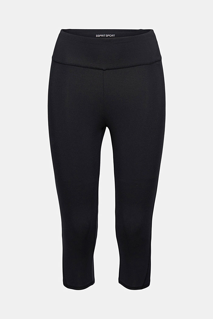 Recycelt: Active-Leggings mit E-Dry, BLACK, detail image number 5