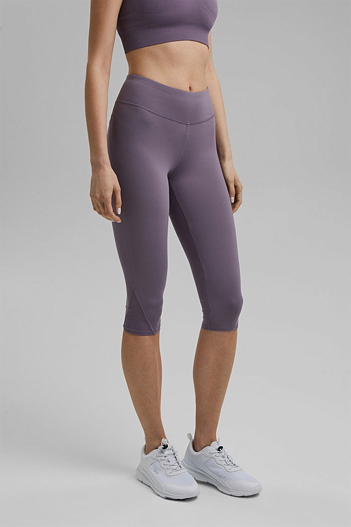 Recycled: high-performance leggings with an E-DRY finish, MAUVE, detail image number 0