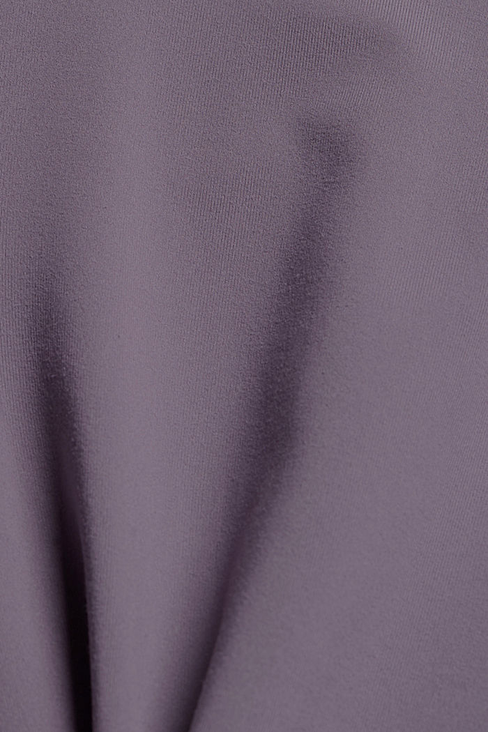 Recycled: high-performance leggings with an E-DRY finish, MAUVE, detail image number 4