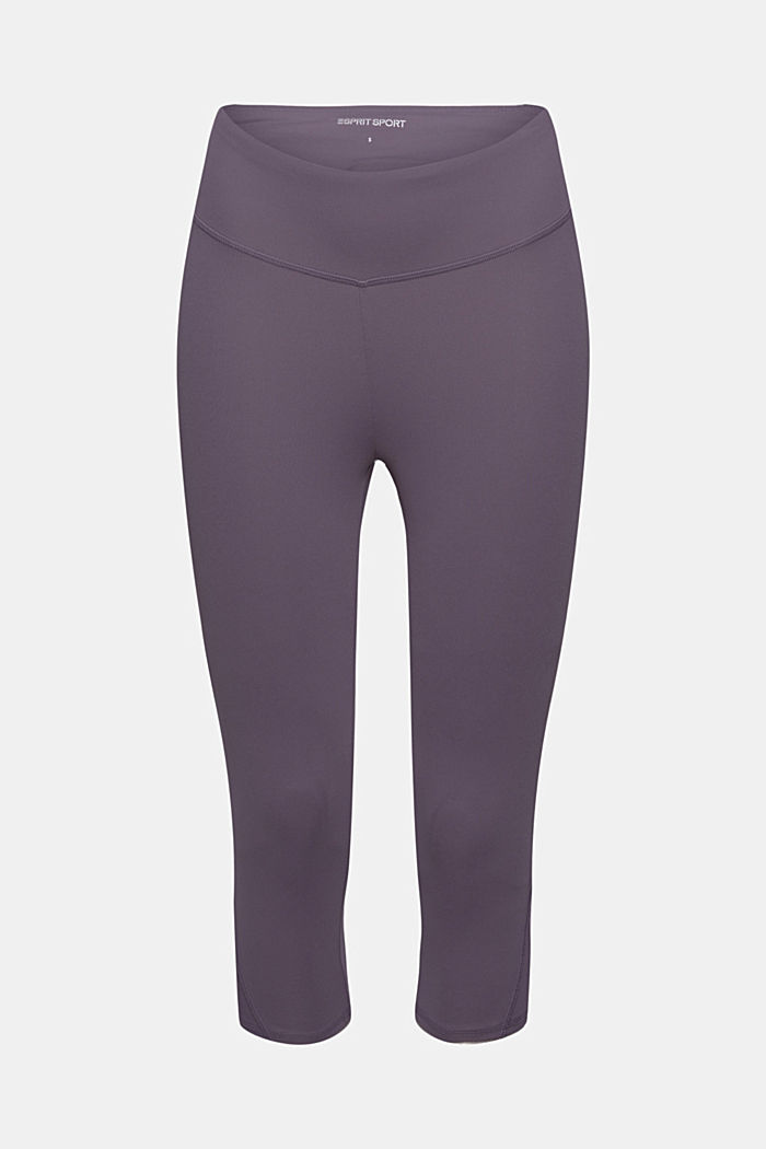 Recycelt: Active-Leggings mit E-Dry, MAUVE, overview