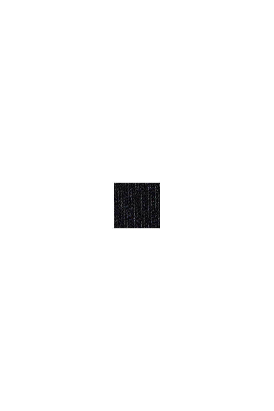 Jogginghose aus Bio-Baumwoll-Mix, BLACK, swatch