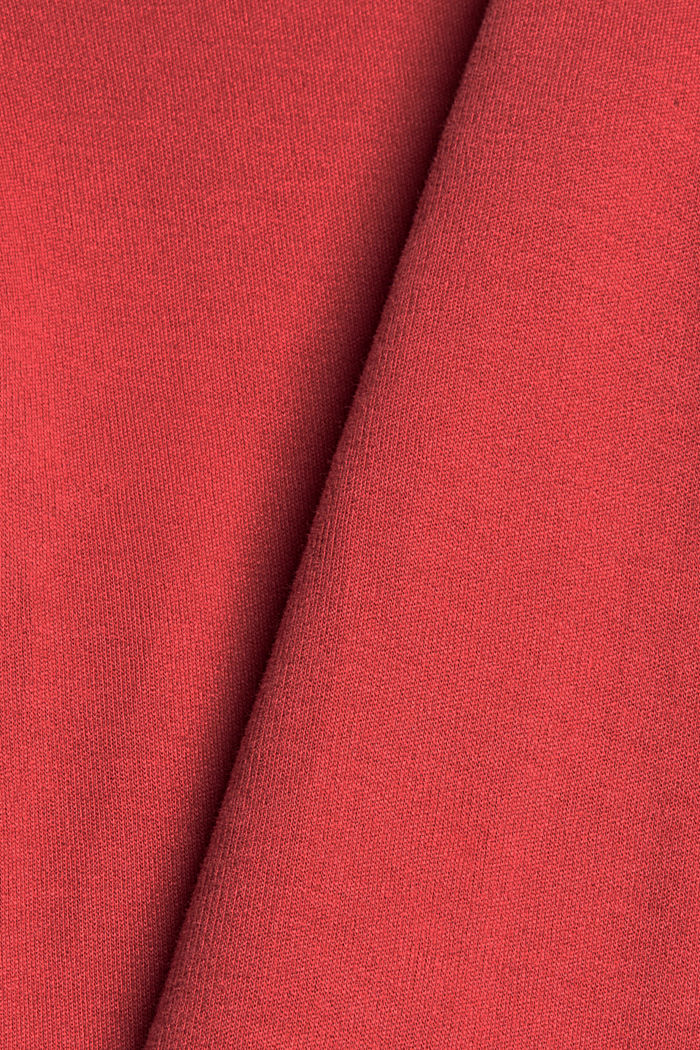 Pantalon de jogging en coton biologique mélangé, BLUSH, detail image number 4