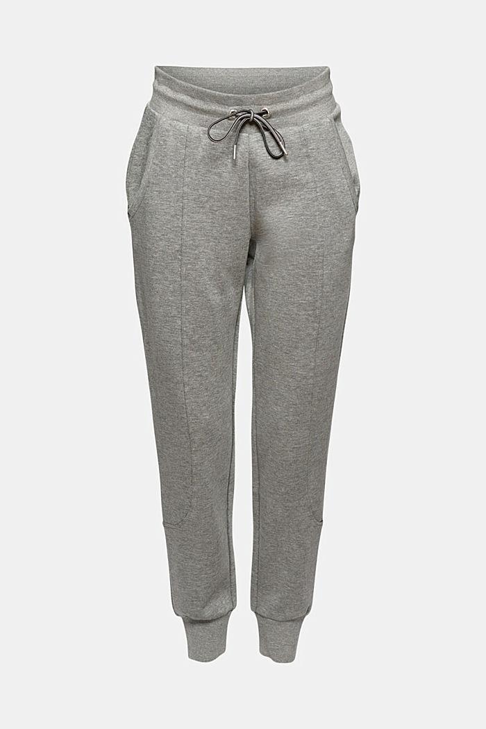 Pantalón jogging confeccionado en una mezcla de algodón ecológico