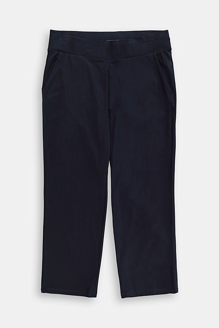 Pants knitted, NAVY, detail image number 0