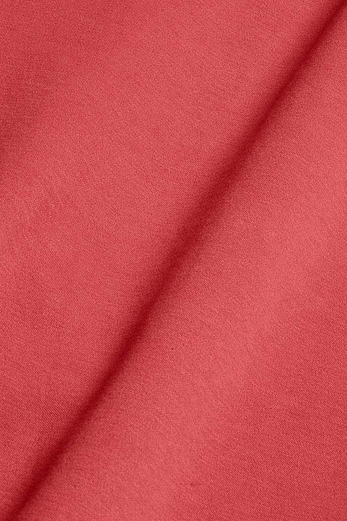 Sweathoodie met zachte touch, mix met biologisch katoen, BLUSH, detail image number 4