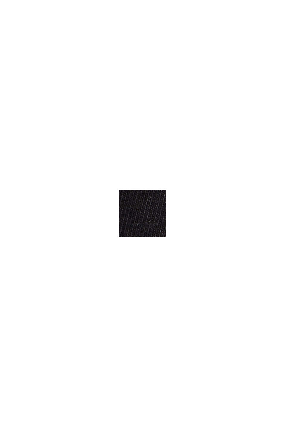 Sweatshirt aus Organic Cotton, BLACK, swatch