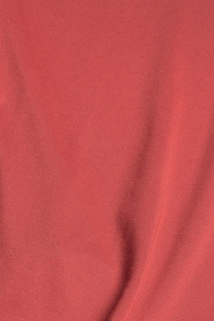 Gerecycled: sportshirt met E-DRY, BLUSH, detail image number 4