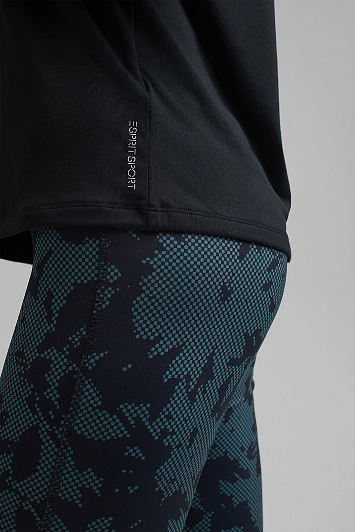 Recycelt: Active-Top mit E-DRY, BLACK, detail image number 2